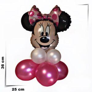 Composizione di palloncini centrotavola Minnie