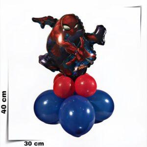 Composizione di palloncini centrotavola Spider Man