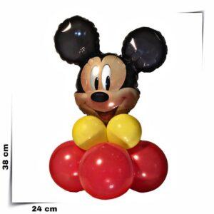 Composizione di palloncini centrotavola Topolino